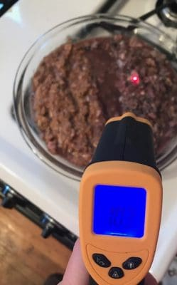 how to serve raw dog food warming recommendations
